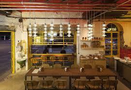 Pizza Restaurant Interior Design Electric Metallic And Serving Tasty Delights Bráz Elettrica