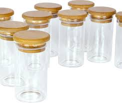 kitchen canisters and jars spiceberry home glass spice bottles 4 oz set of 12