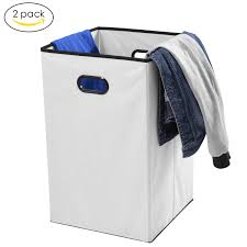Laundry Hampers With Lid by Foldable Laundry Hamper Maidmax 74 Liter Nonwoven Cloth Storage