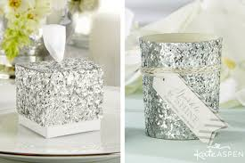 silver party favors silver 25th wedding anniversary ideas kate aspen