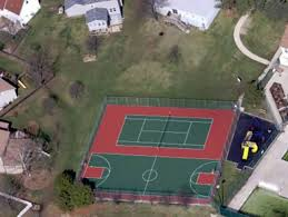 Backyard Sport Courts by Outdoor Basketball Court Tile For Backyard Courts