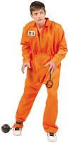 Teenage Male Halloween Costumes Teen Boys Orange Escaped Convict Convict Costumes