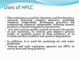 high performance liquid chromatography ppt download