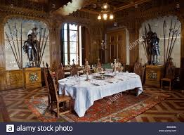 Gothic Dining Room by France Maine Et Loire Breze Chateau De Breze With Neo Gothic