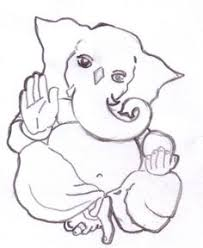 photos simple ganesh drawing drawing art gallery
