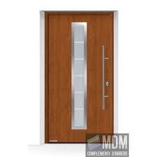 porte sezionali hormann porta ingresso thermo65 acciaio alluminio decograin golden oak hormann
