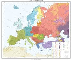 Eurpoe Map Languages Of Europe Map Europe