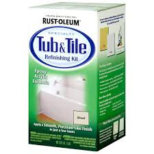 tough as tile sink and tile finish rust oleum specialty 1 qt almond tub and tile refinishing kit