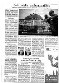 Angebote K Hen Insolventes Park Hotel Bremen Warnung Für Alle Prizetimes