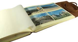 photograph albums rustic leather photo albums leather scrapbook albums