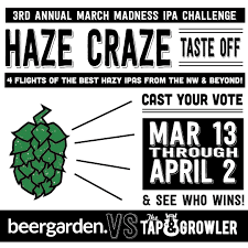 Challenge The Craze 3rd Annual March Madness Ipa Challenge Craze Blind Taste