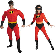 Muscle Man Halloween Costume Couples Incredible Muscle Costume Man Wife