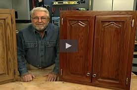 how to easily refinish kitchen cabinets without stripping off the
