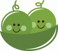 Two Peas In A Pod Meme - peas in a pod clipart