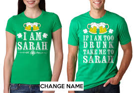 custom green t shirts st patrick u0027s day tee shirts