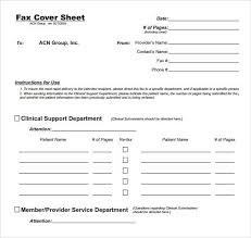 fax cover letter pdf free fax cover sheet template printable fax