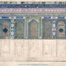 Tile Decoration Ernest Richmond Tile Decoration Of The Dome Of The Rock