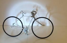 bicycle cake topper decor racer wire bicycle sculpture cake topper 2428328 weddbook