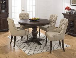 furniture unique nailhead dining chair for your dining room decor