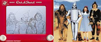 treasured art re made on etch a sketch impact lab