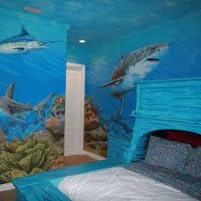Ocean Themed Kids Room by Giant Shark For Kids Bedroom Wall Murals Baby Stuff Pinterest