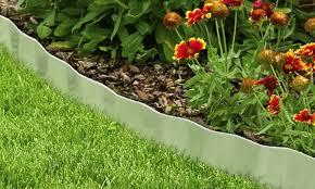 galvanized steel lawn edging landscape plant and garden border