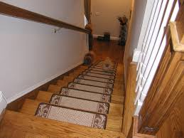 home decor appealing carpeted stair treads plus treads carpet