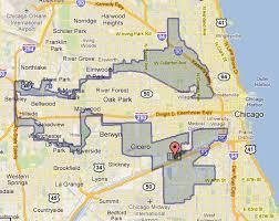chicago gerrymandering map illinois congressional district 4 worst exle of gerrymandering