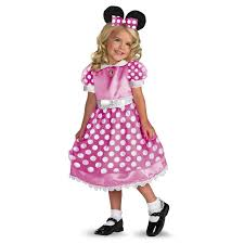 halloween costume stores salt lake city disney clubhouse minnie mouse pink toddler child costume