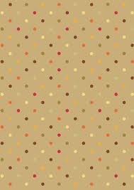 thanksgiving scrapbook paper dotty