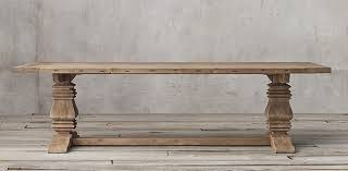 trestle tables for sale salvaged wood trestle collection natural rh popular wooden table 17