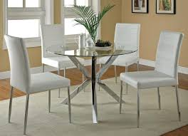 furniture kitchen table furniture extraordinary clio modern glass kitchen table