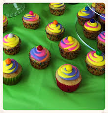 color swirl cupcakes with wilton color swirl coupler just be slower