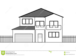 drawing a house 1 clipart etc photos basic drawing of a house drawings art gallery