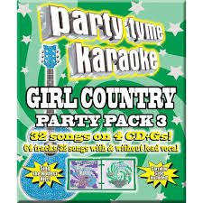 Party Tyme Karaoke Christmas Pack - country party pack 3 party tyme karaoke