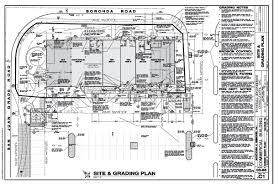 building site plan plans plans for building