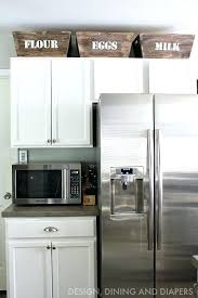 ideas for top of kitchen cabinets decorations best 25 above