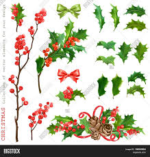 christmas collection decorative vector u0026 photo bigstock