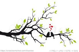 wedding tree wedding tree vector illustrations creative market