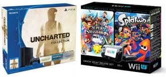 black friday priced wii u and playstation 4 goes live on
