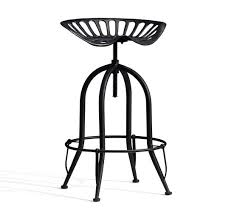tractor seat barstool pottery barn