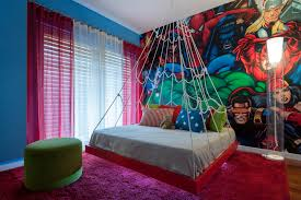 Red And Blue Boys Bedroom - 55 wonderful boys room design ideas digsdigs