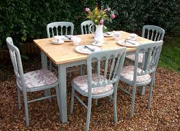 Shabby Chic Dining Table Set White Dining Table Shab Chic Country Design Of Shabby Chic Dining