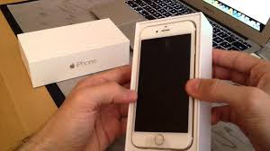 Famosos iPhone 6 Dourado Unboxing ( iPhone 6 Gold 64GB) - YouTube @XN74