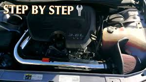 2013 dodge challenger cold air intake how to install k n cold air intake dodge challenger by