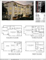 duplex townhouse plan e2049 b1 1l ஃ ᗩ r c h pinterest