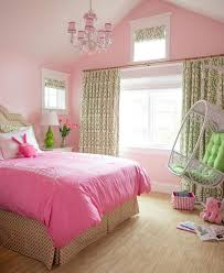 pink and green room green and pink girls bedroom with white rattan hanging chair