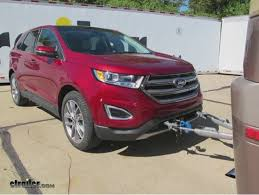 ford edge vehicle tow bar wiring etrailer com