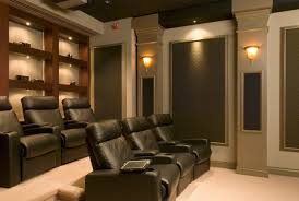 love this for a media room theatre a couch instead of individual