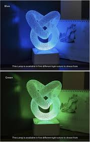 Green Table Gifts by Cnhidee Novelty Gifts Chinese Knot 3d Led Table Lamp Soft 5 Colors